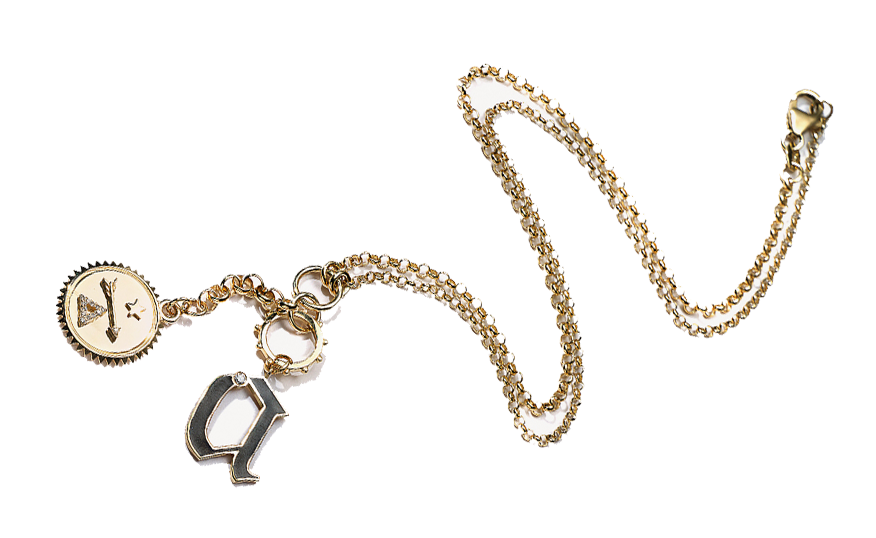 - Foundrae Personalized Charm Necklace, SGD$4600 (Affordable alternatives here and here)