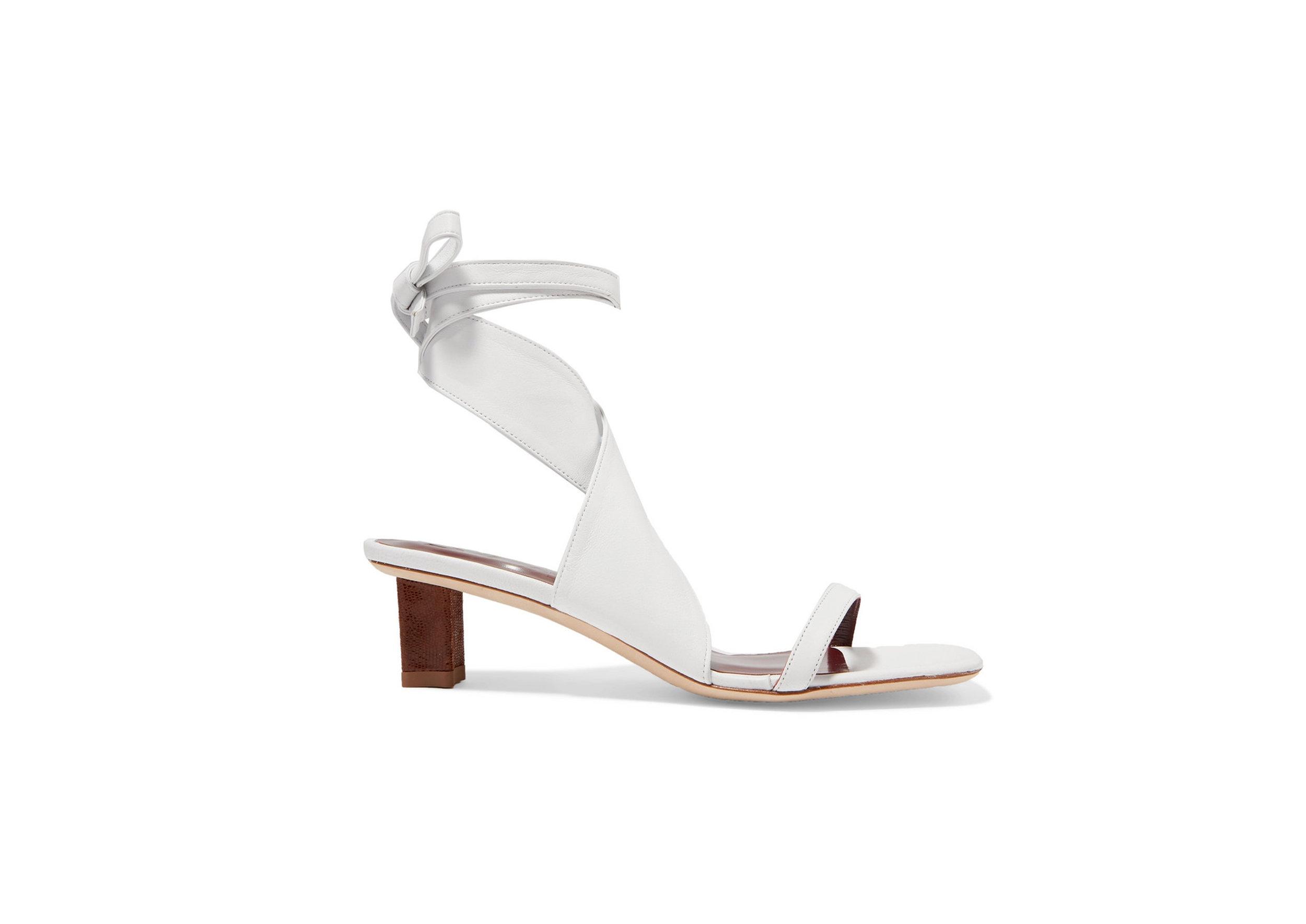 Staud - Rui Leather Sandals, SGD 452