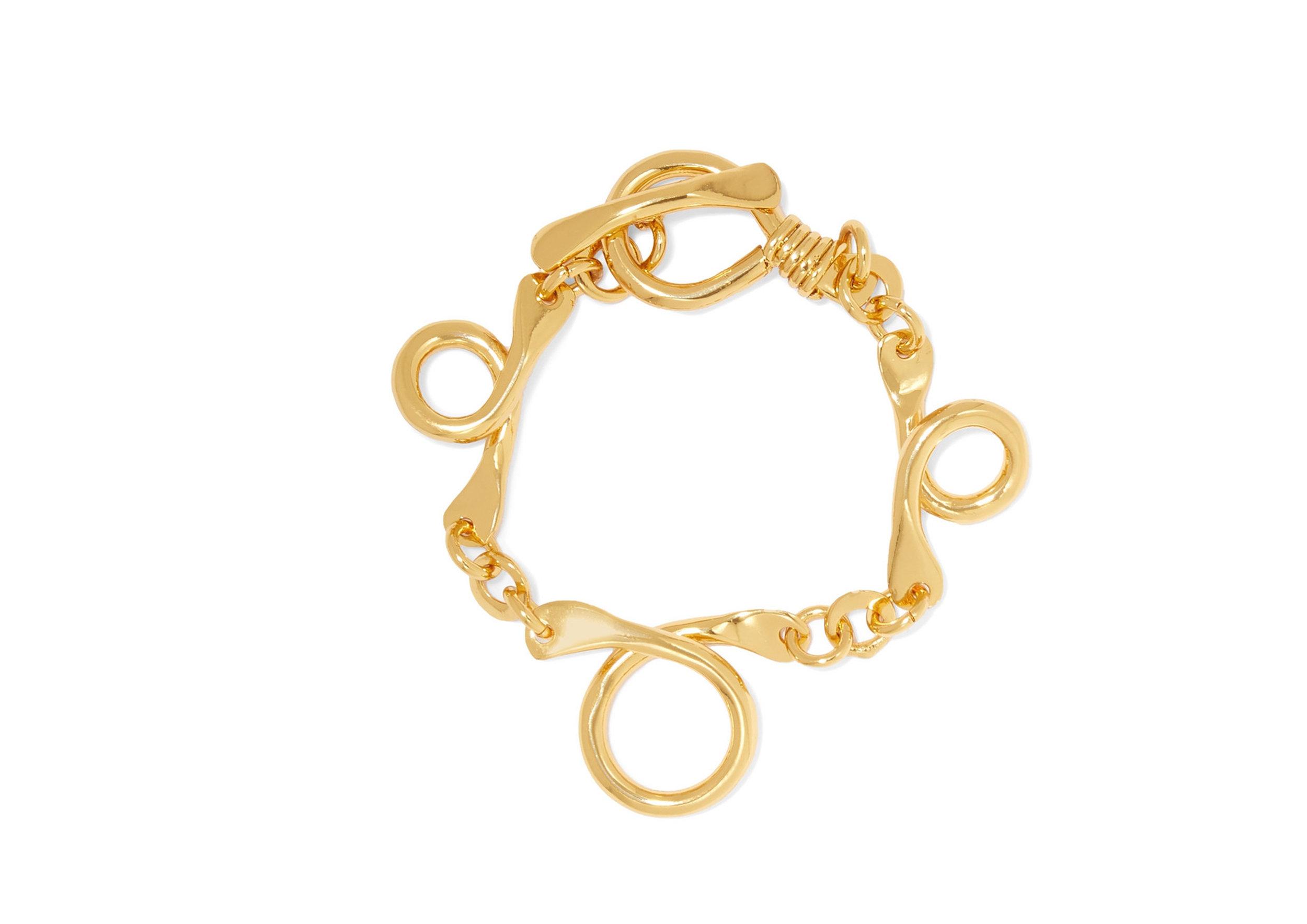 Tohum - Dunya Gold-Plated Bracelet, SGD 350