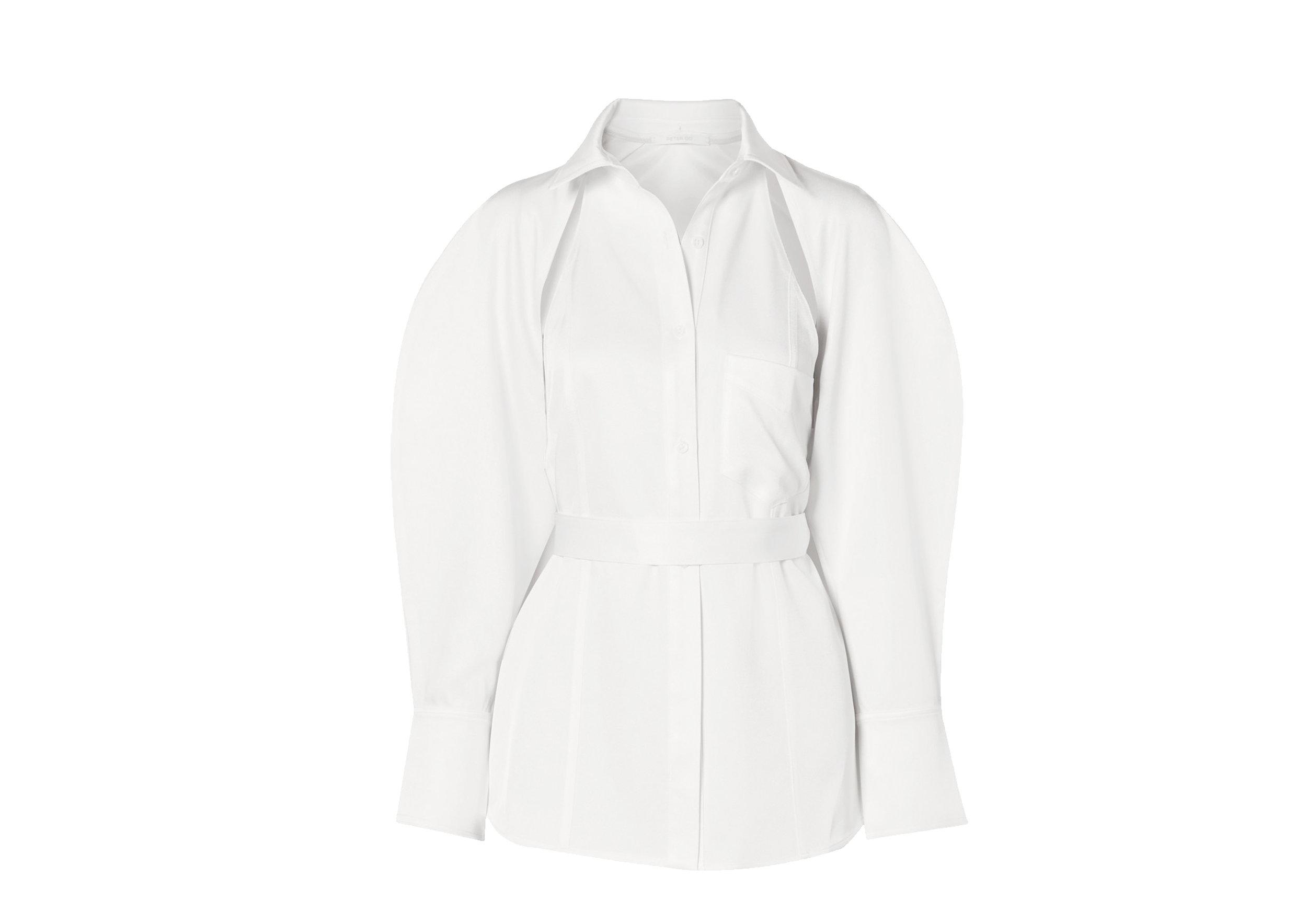 Peter Do - Convertible Satin-Twill Shirt, SGD 1,432