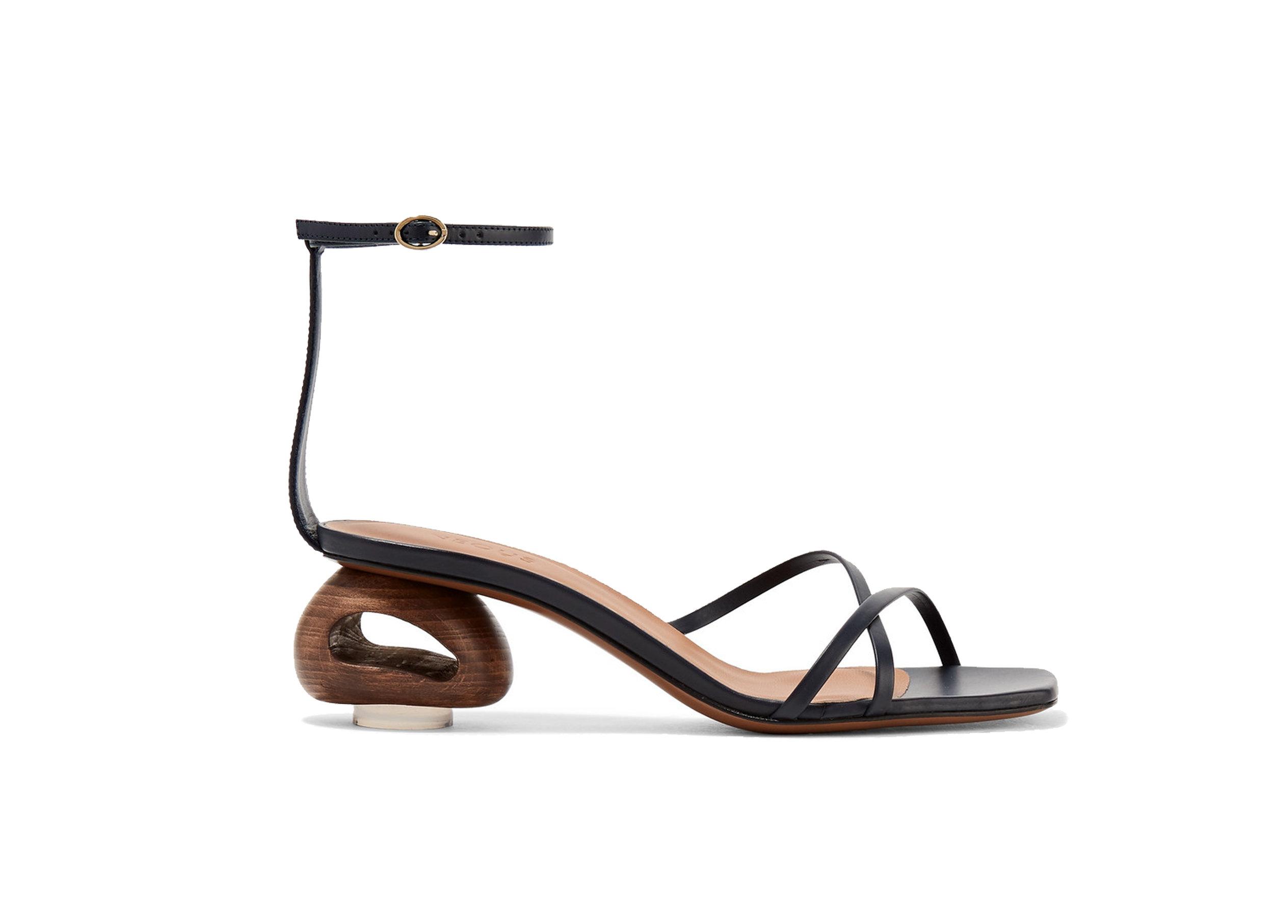 Neous - Phippium Leather Sandals, SGD 805
