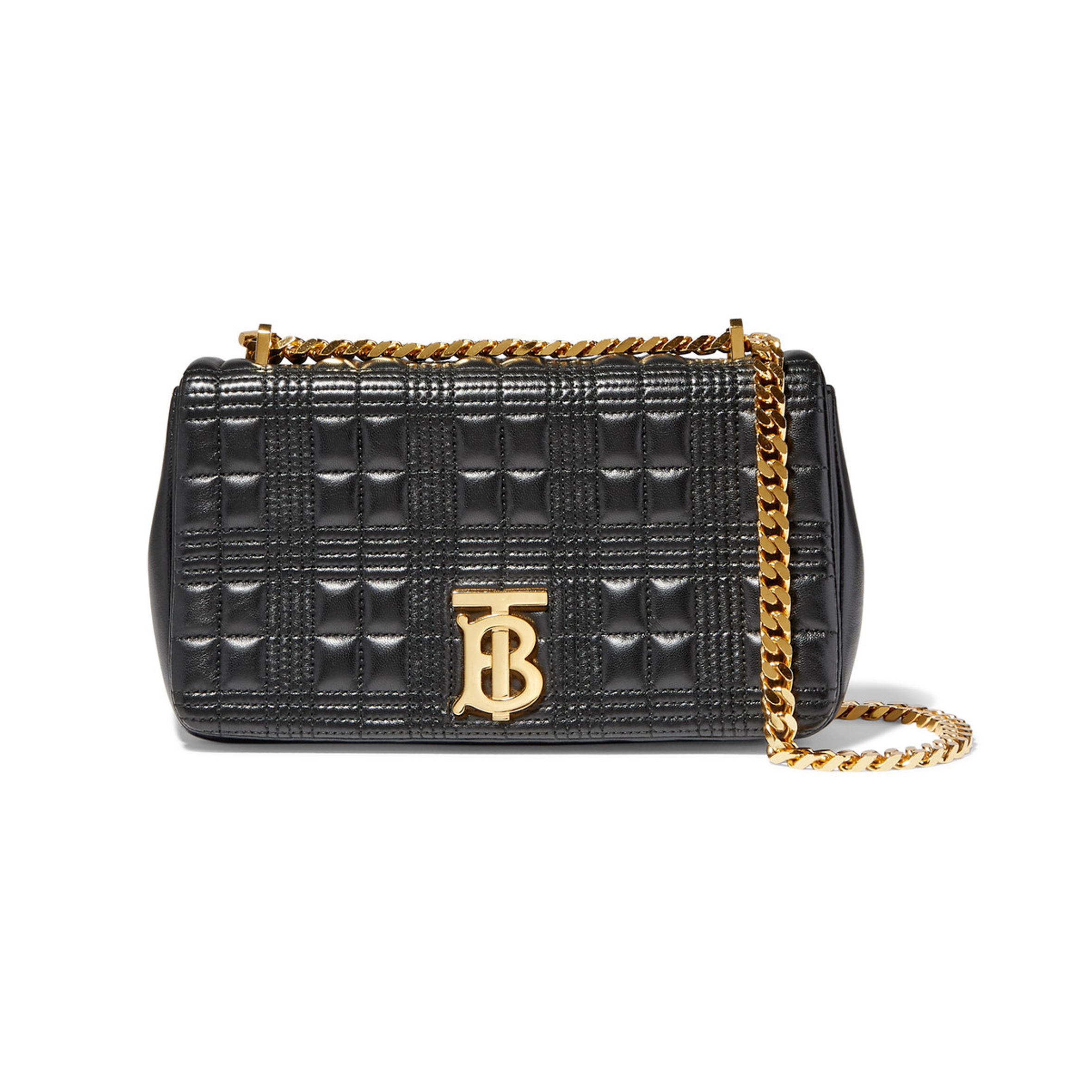 Burberry - Lola Small Quilted Leather Shoulder Bag | SGD2.526
