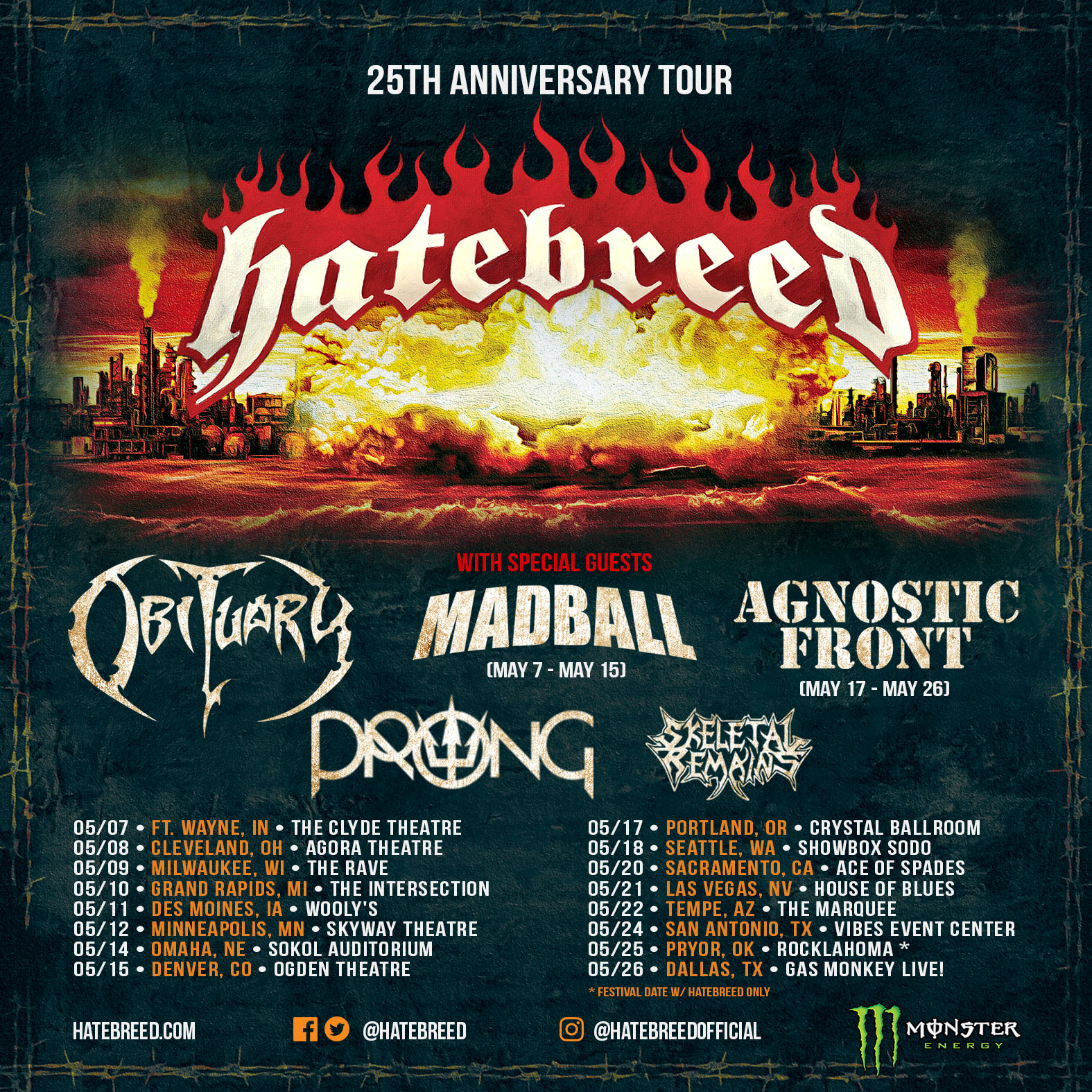 HATEBREED - The Concrete Confessional (Out Worldwide)   The