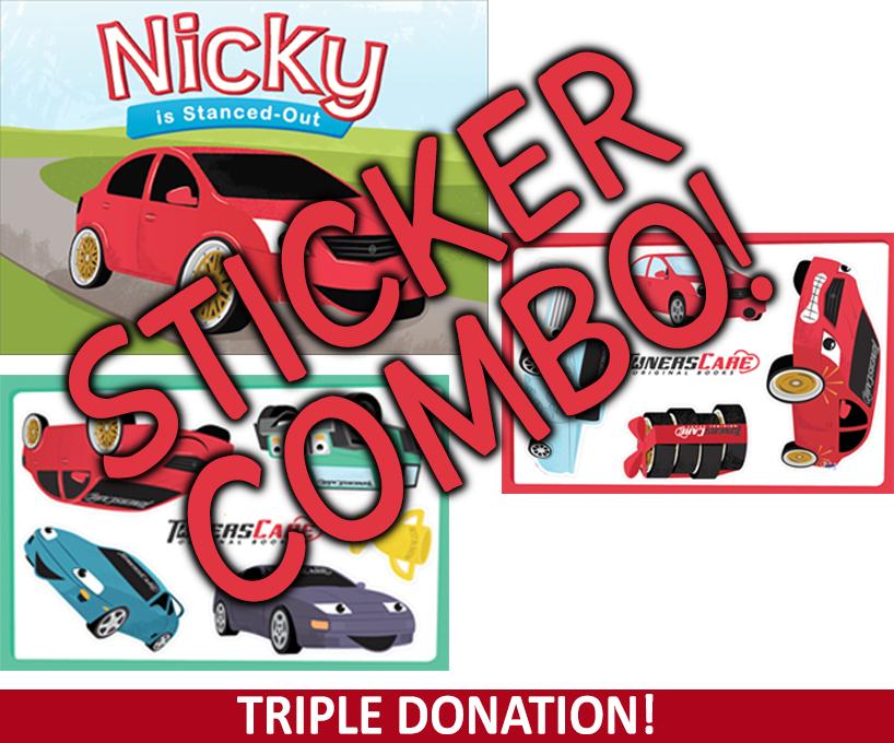 Nicky Hardcover + Stickers