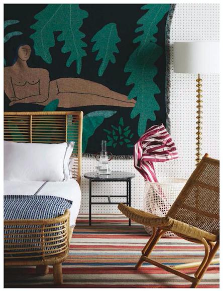 BFGF Wall Hanging via House & Garden Magazine