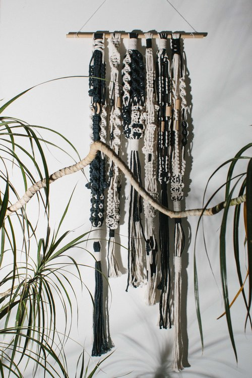 Huiswerk Hanging for 'Tasseled' Collaboration with A New Tribe