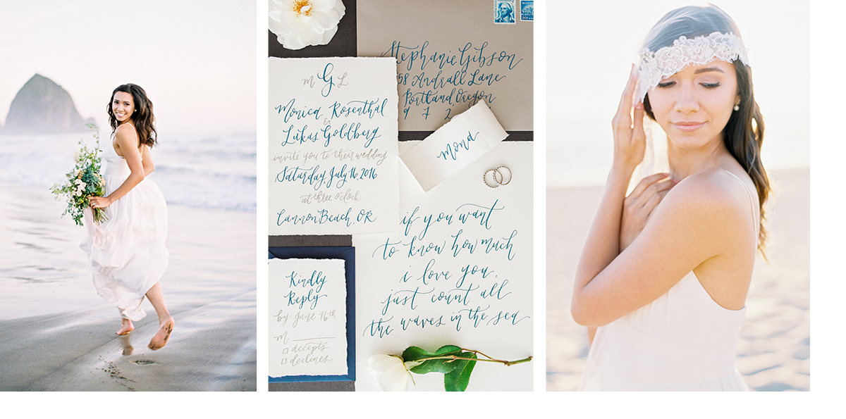 pirouettepaper.com | Savan Photography | Beach Wedding | Pirouette Paper Company | Wedding Calligraphy and Invitations  |  Written Quotes and Vows