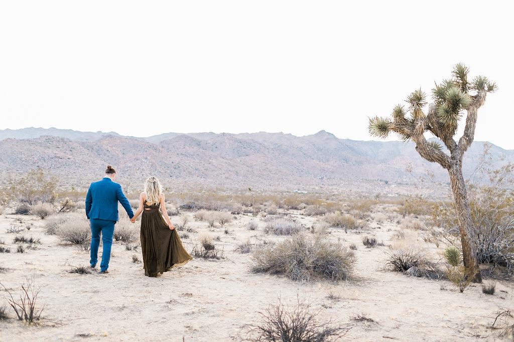 PIROUETTE PAPER COMPANY  |  NATALIE SCHUTT PHOTOGRAPHY  |  JOSHUA TREE ENGAGEMENT ELOPEMENT  |  DESERT WEDDING