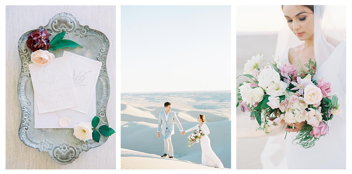 GLAMIS SAN DUNES | MALLORY DAWN PHOTOGRAPHY | PIROUETTE PAPER | FINE ART WEDDING INVITATIONS