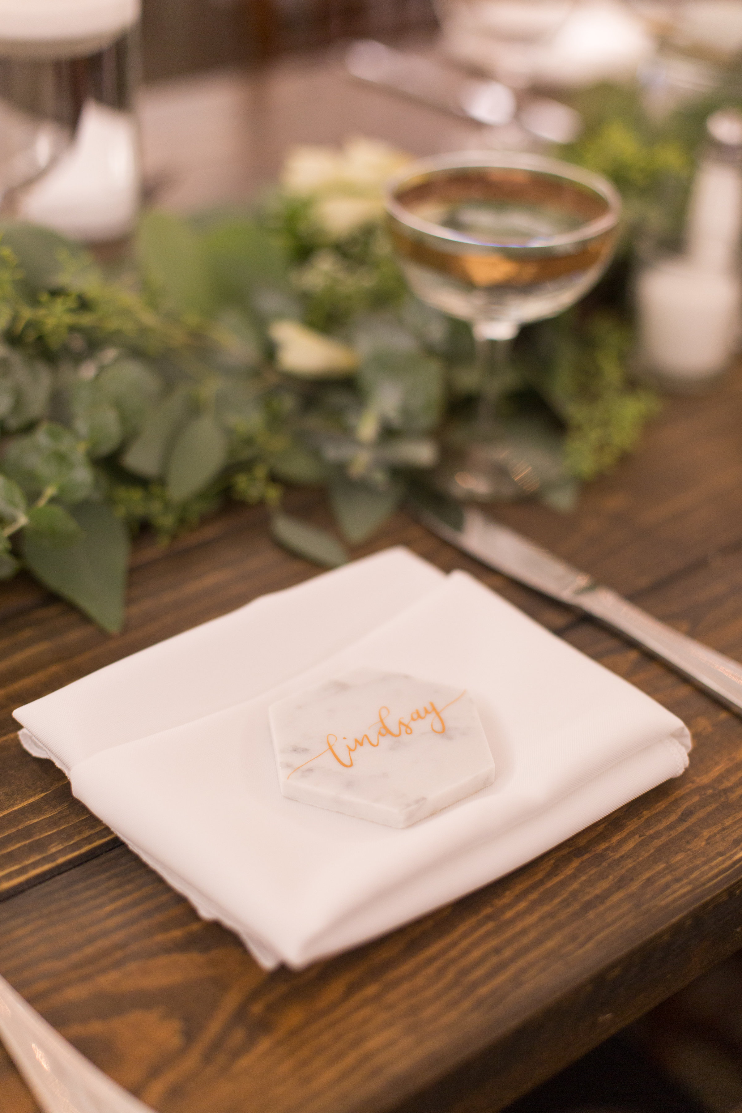 Ashley Paige Photo | The Casino San Clemente | Pirouette Paper Calligraphy + Signage | All in the Detail Design