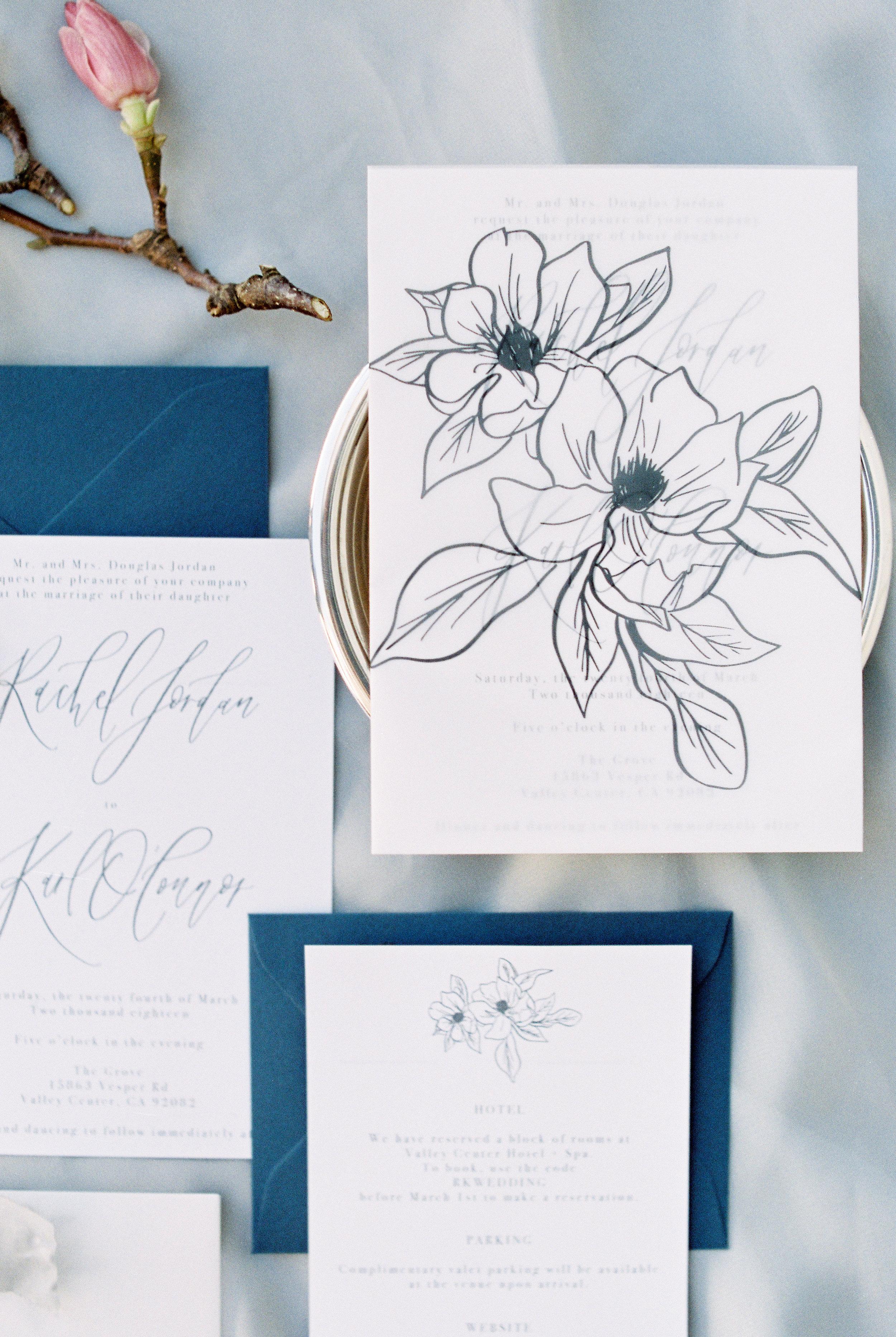 Savan Photography | The Grove San Diego | Pirouette Paper Calligraphy + Design