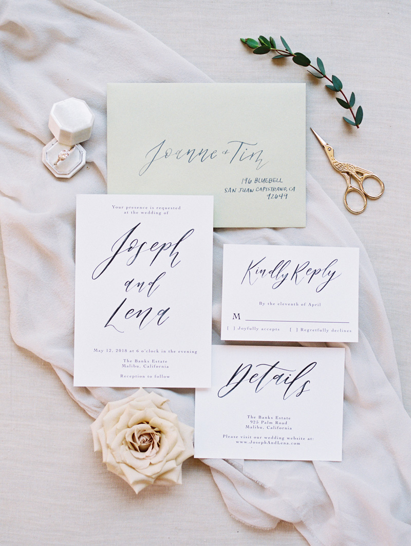 pirouettepaper.com | Wedding Stationery and Invitations | Greystone Mansion | Pirouette Paper Company | Alicia Mink Photography _ (5).jpg