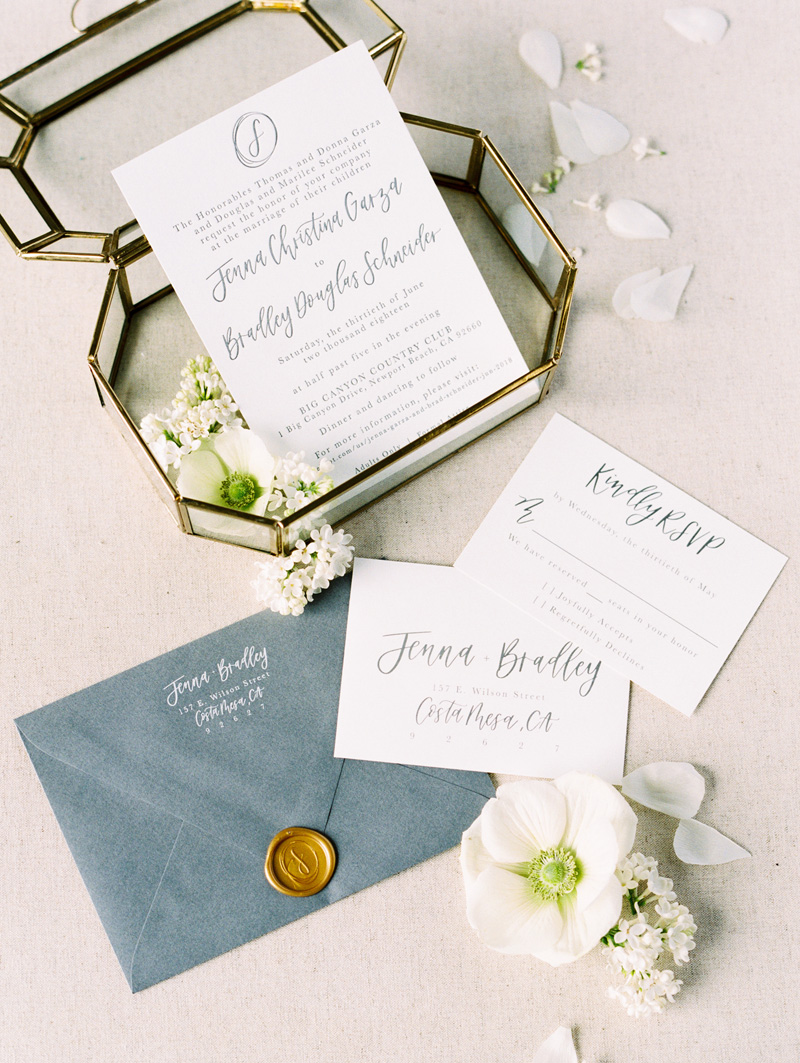 pirouettepaper.com | Wedding Stationery, Signage and Invitations | Pirouette Paper Company | Big Canyon Country Club Wedding | Jordan Galindo Photography _.jpg