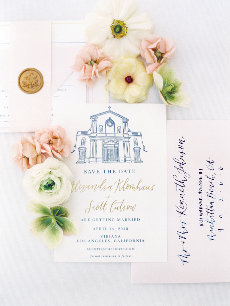 pirouettepaper.com | Wedding Stationery, Signage and Invitations | Pirouette Paper Company | Vibiana Downtown Los Angeles Wedding | Mallory Dawn Photography_ (16).jpg