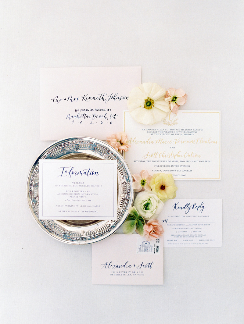 pirouettepaper.com | Wedding Stationery, Signage and Invitations | Pirouette Paper Company | Vibiana Downtown Los Angeles Wedding | Mallory Dawn Photography_ (18).jpg