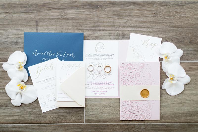 pirouettepaper.com | Wedding Stationery, Signage and Invitations | Pirouette Paper Company | The Waterfront Beach Resort Hilton Huntington Beach Wedding | Katrina Jayne Photography_ (2).jpg