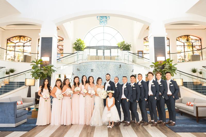 pirouettepaper.com | Wedding Stationery, Signage and Invitations | Pirouette Paper Company | The Waterfront Beach Resort Hilton Huntington Beach Wedding | Katrina Jayne Photography_ (16).jpg