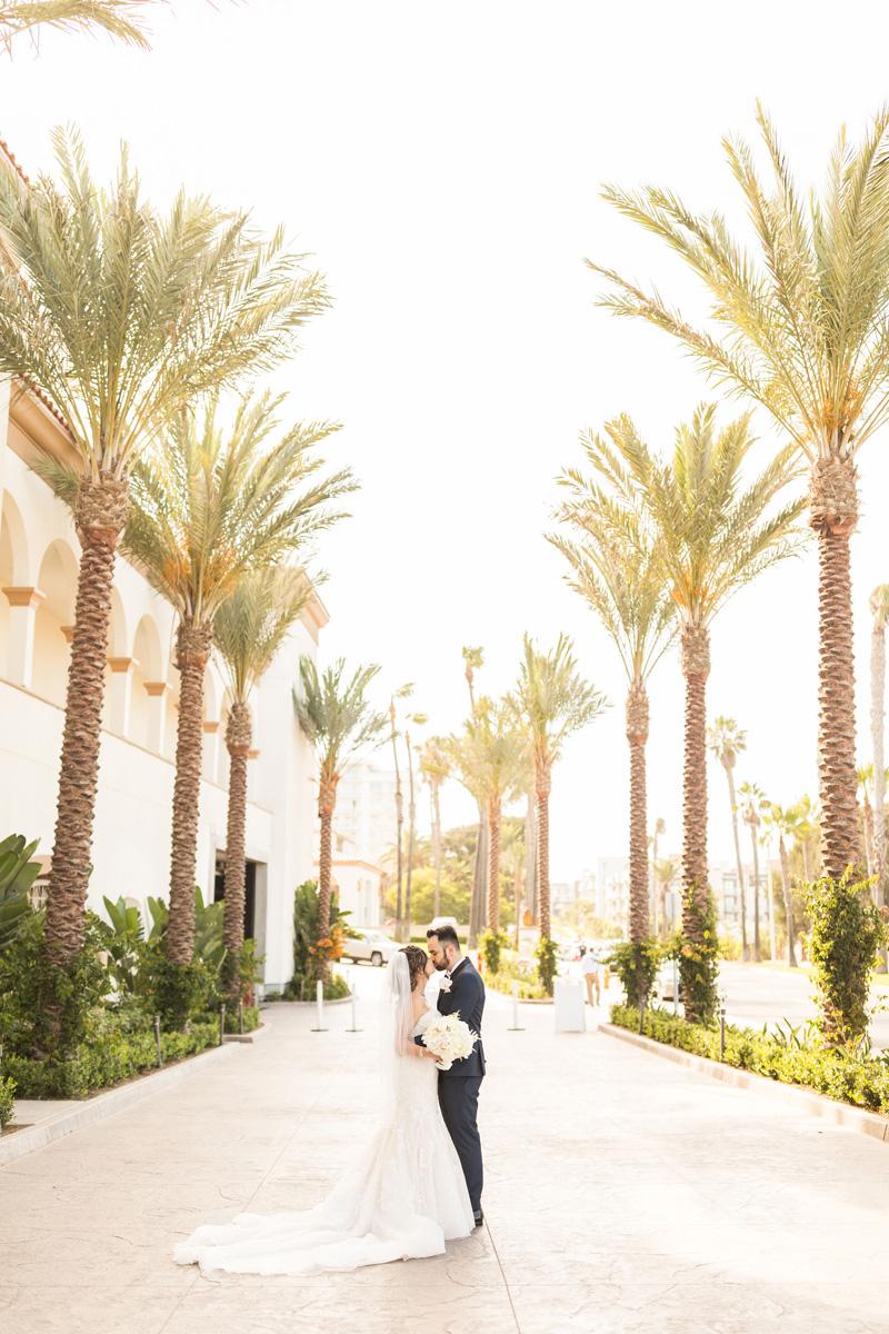 pirouettepaper.com | Wedding Stationery, Signage and Invitations | Pirouette Paper Company | The Waterfront Beach Resort Hilton Huntington Beach Wedding | Katrina Jayne Photography_ (24).jpg
