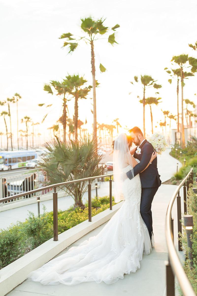 pirouettepaper.com | Wedding Stationery, Signage and Invitations | Pirouette Paper Company | The Waterfront Beach Resort Hilton Huntington Beach Wedding | Katrina Jayne Photography_ (29).jpg