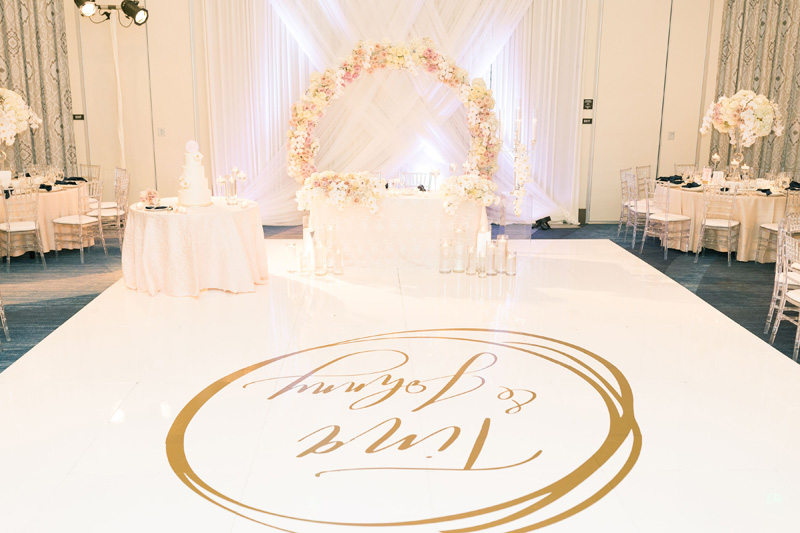 pirouettepaper.com | Wedding Stationery, Signage and Invitations | Pirouette Paper Company | The Waterfront Beach Resort Hilton Huntington Beach Wedding | Katrina Jayne Photography_ (35).jpg