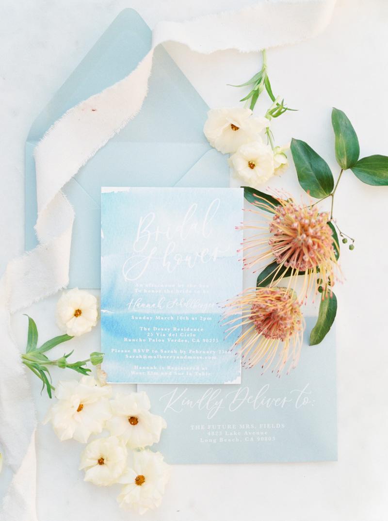 pirouettepaper.com | Wedding Stationery, Signage and Invitations | Pirouette Paper Company | Seaside Bridal Shower |  Christine Skari Photography_ (16).jpg
