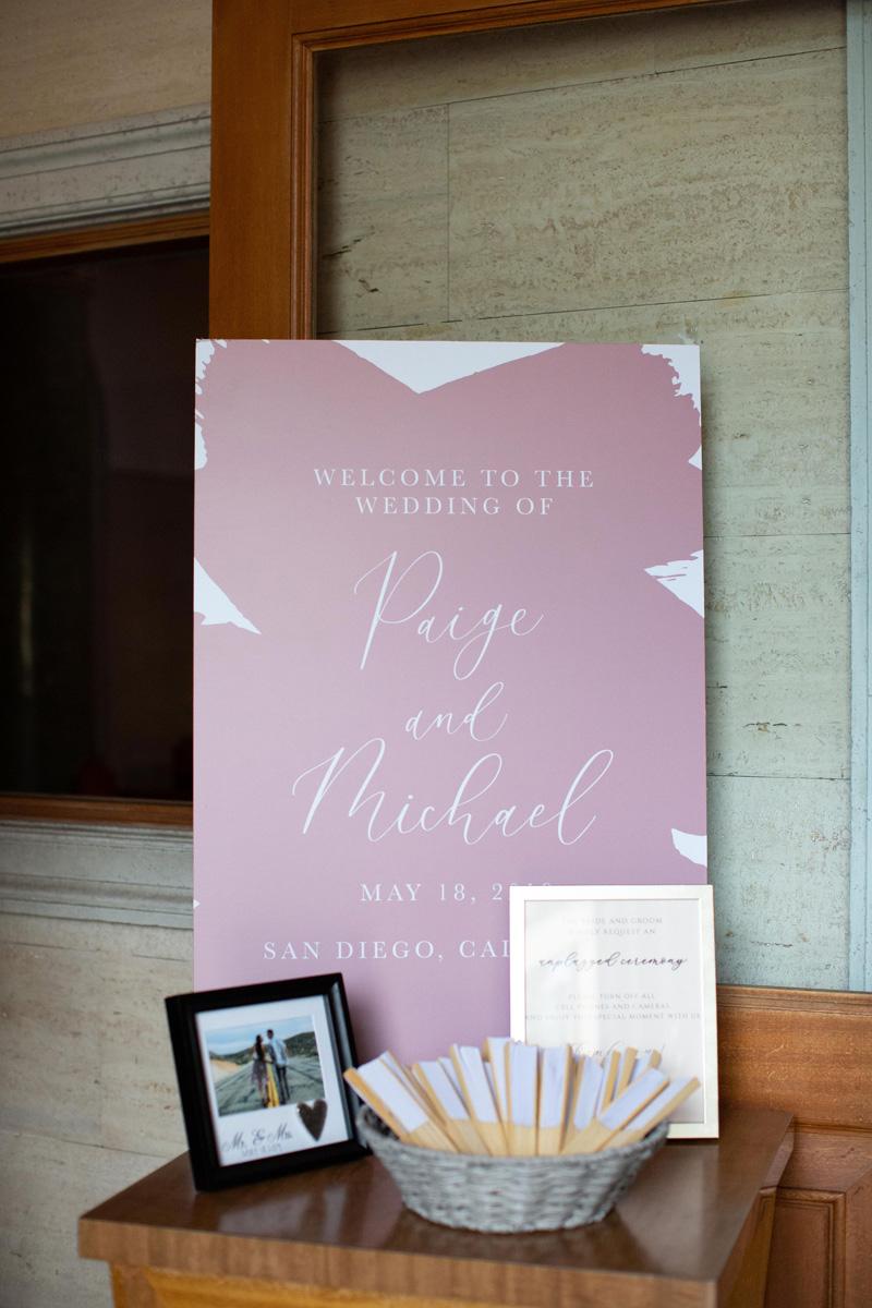 pirouettepaper.com | Wedding Stationery, Signage and Invitations | Pirouette Paper Company | Estancia La Jolla Wedding |  Dear Lovers Photography_ (13).jpg