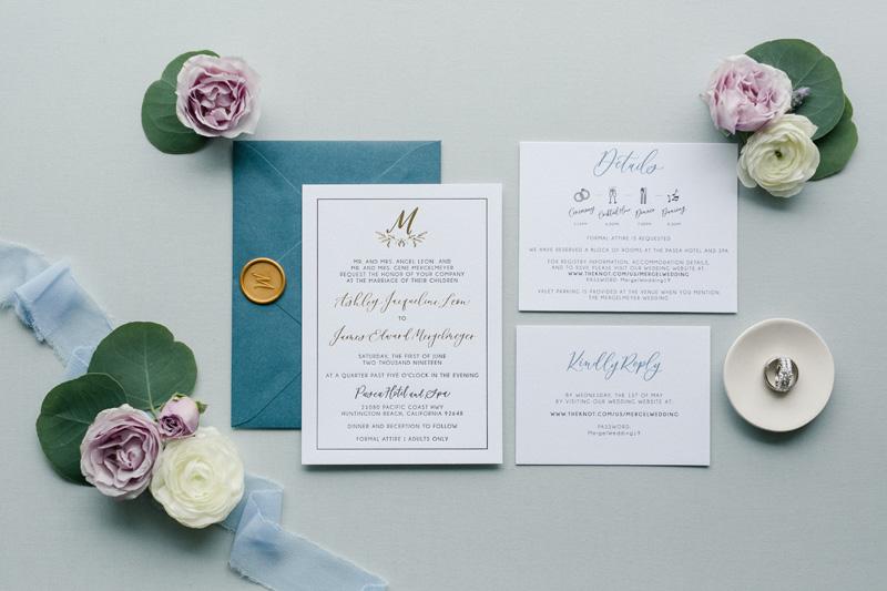pirouettepaper.com | Wedding Stationery, Signage and Invitations | Pirouette Paper Company | Pasea Huntington Beach Wedding |  Kaysha Weiner Photography_ (2).jpg