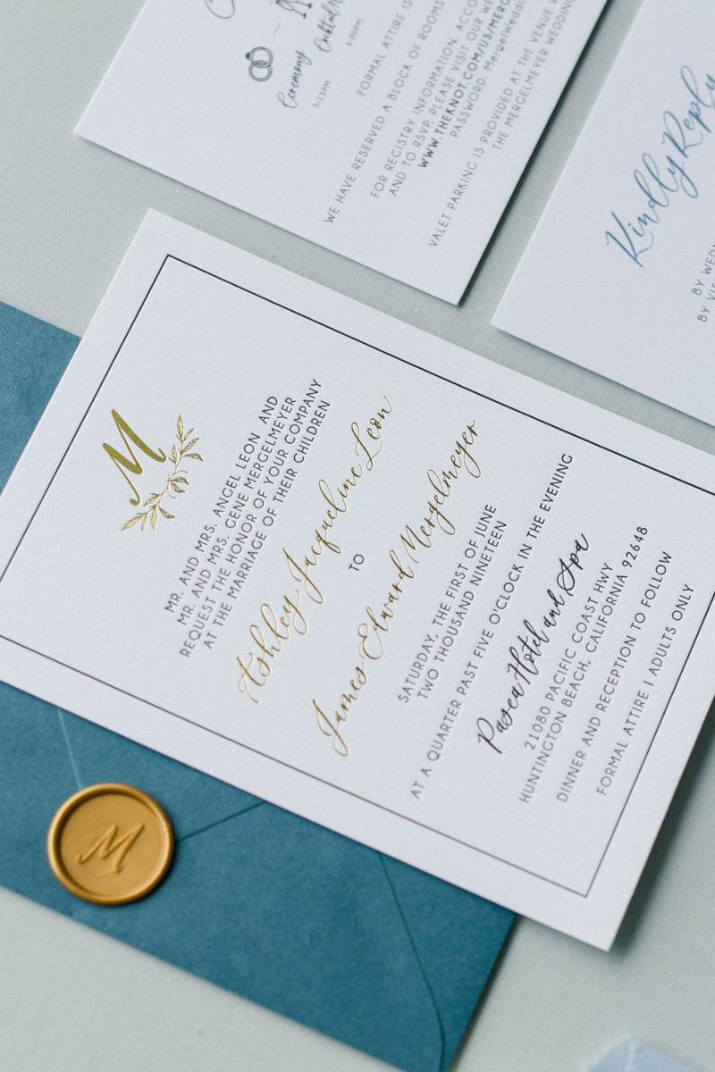 pirouettepaper.com | Wedding Stationery, Signage and Invitations | Pirouette Paper Company | Pasea Huntington Beach Wedding |  Kaysha Weiner Photography_ (3).jpg