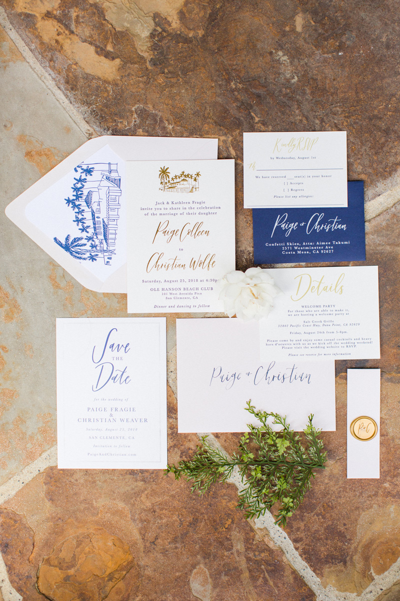 pirouettepaper.com | Wedding Stationery, Signage and Invitations | Pirouette Paper Company | Ole Hanson Beach Club Wedding |  The Vondys Photography_.jpg