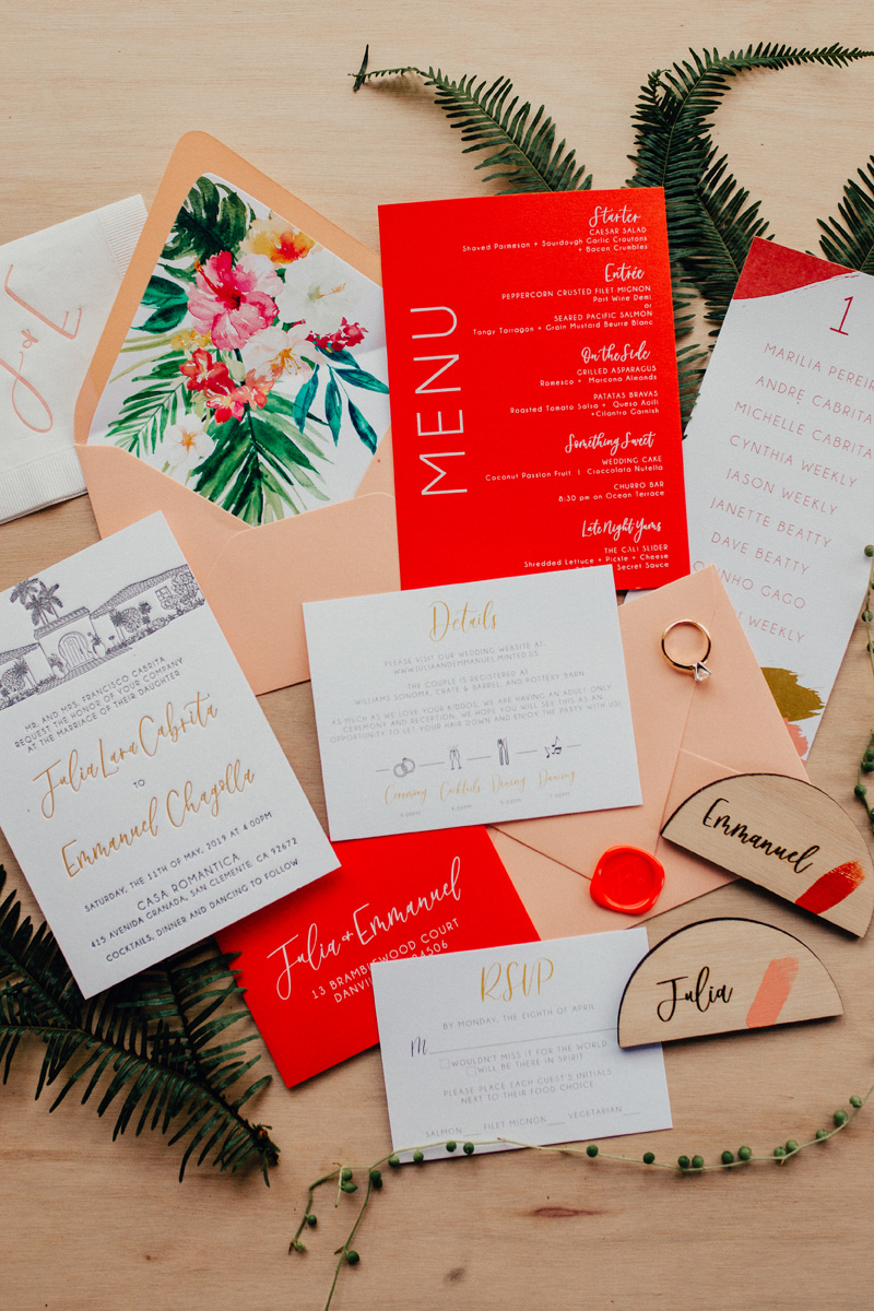 pirouettepaper.com | Wedding Stationery, Signage and Invitations | Pirouette Paper Company | Casa Romantica Wedding |  Ashley Paige Photography_ (2).jpg