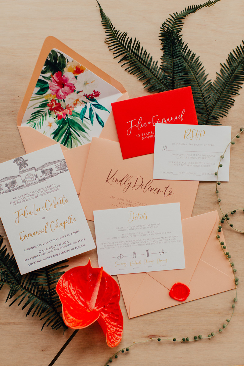 pirouettepaper.com | Wedding Stationery, Signage and Invitations | Pirouette Paper Company | Casa Romantica Wedding |  Ashley Paige Photography_ (17).jpg