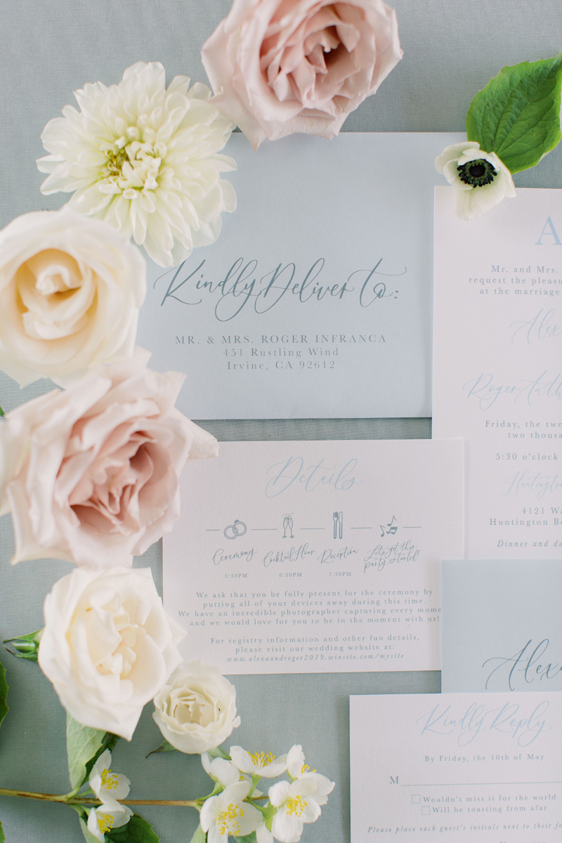 www.pirouettepaper.com |  Wedding Invitations, Calligraphy nd Wedding Stationery | Huntington Bay Club | _ Pirouette Paper Company | Cami Jane Photography _ 32.jpg