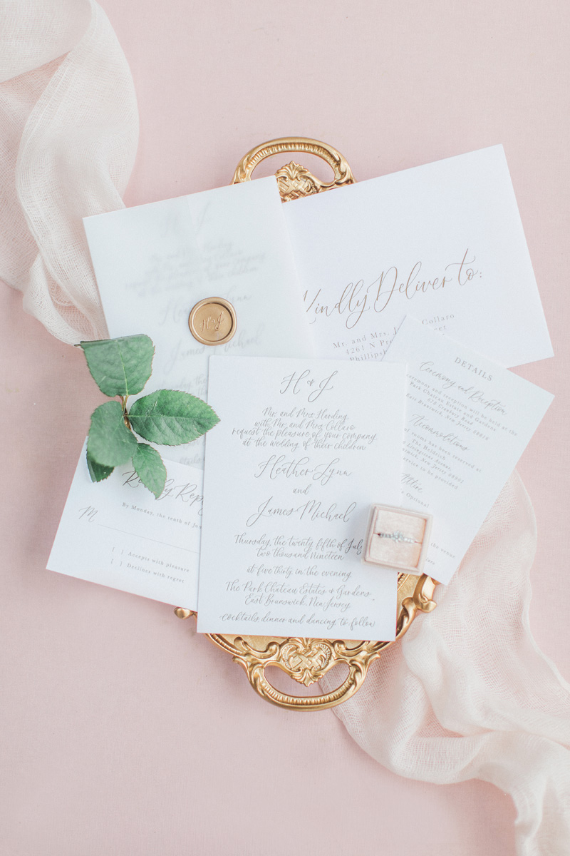 www.pirouettepaper.com |  Wedding Invitations, Calligraphy nd Wedding Stationery |Park Chateau New Jersey Wedding Wedding | _ Pirouette Paper Company | Dyanna Lamora Photography _ 39.jpg