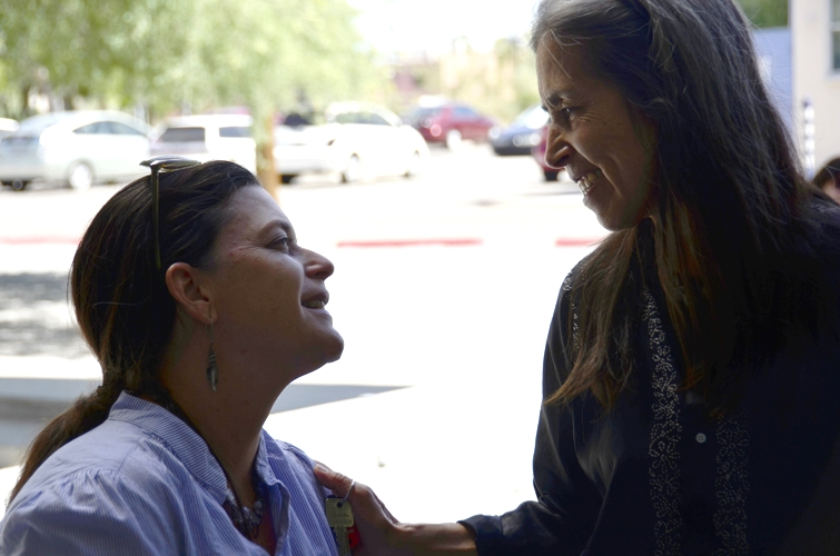 Annie Guthrie and Cecilia Vicuña