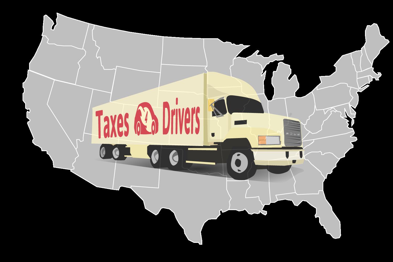 Taxes4Drivers USA Map