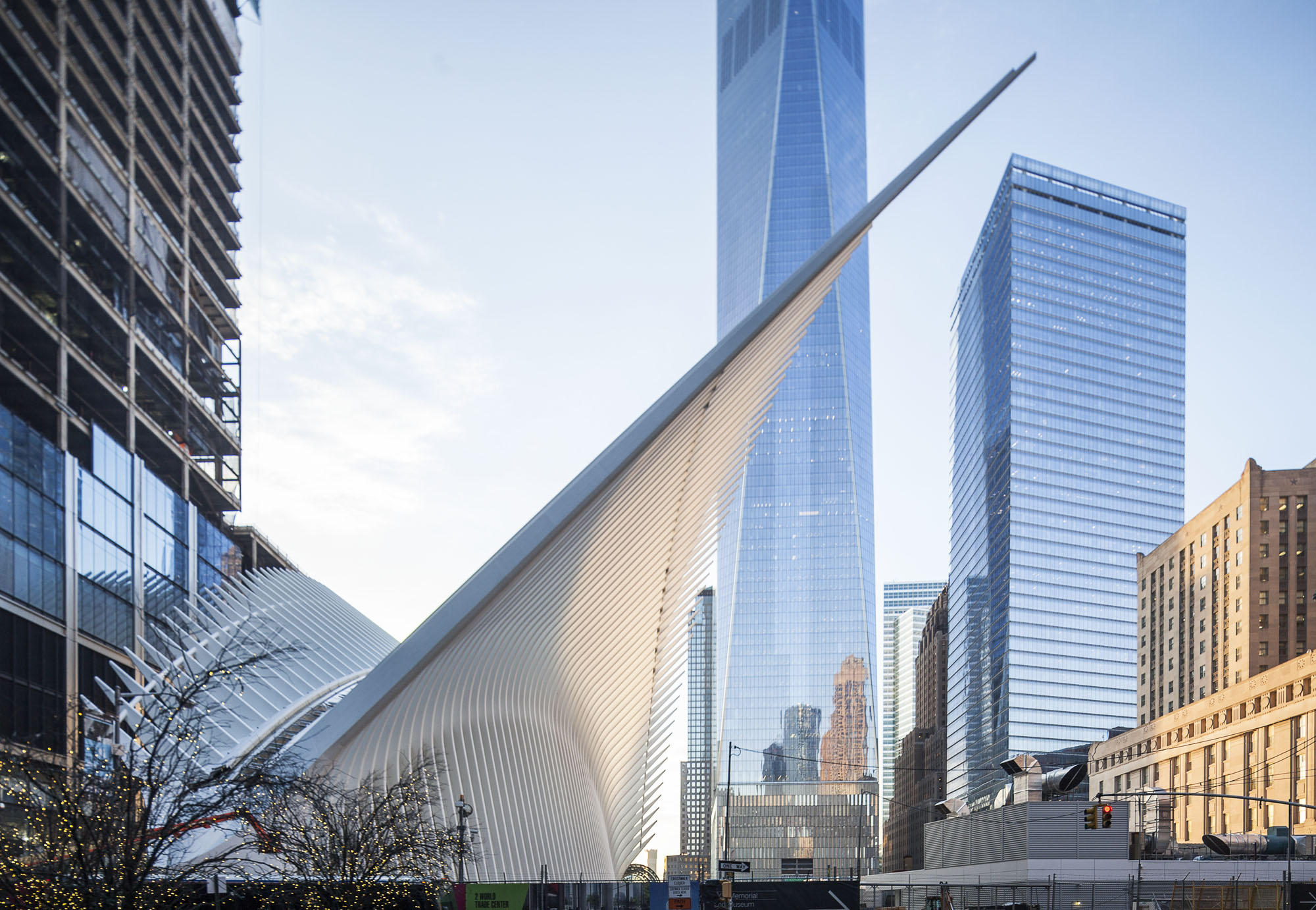 World Trade Center Hub in New York. Photo: Montse Zamorano