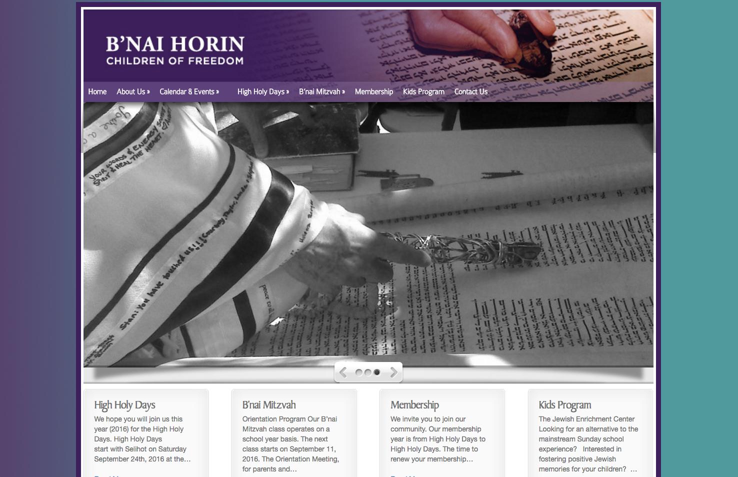 Visit B'Nai Horin