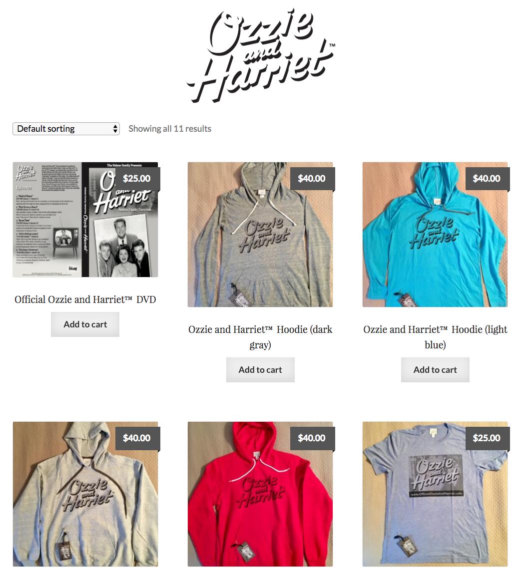 Visit  Official Ozzie & Harriet.com
