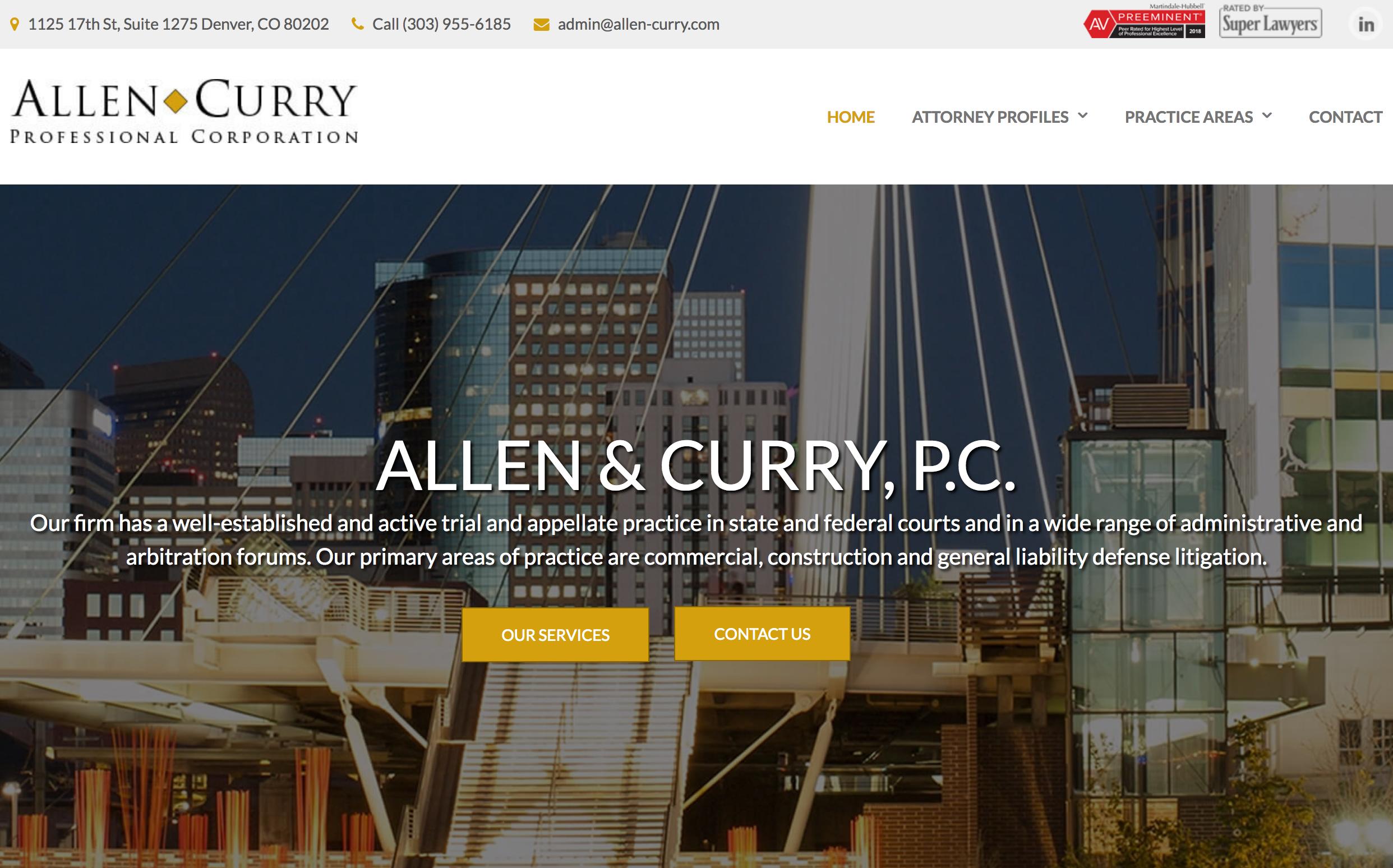 Visit Allen Curry