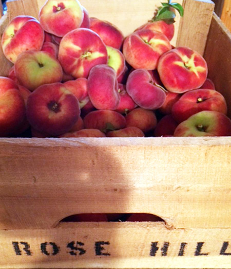 Donut Peaches Crate