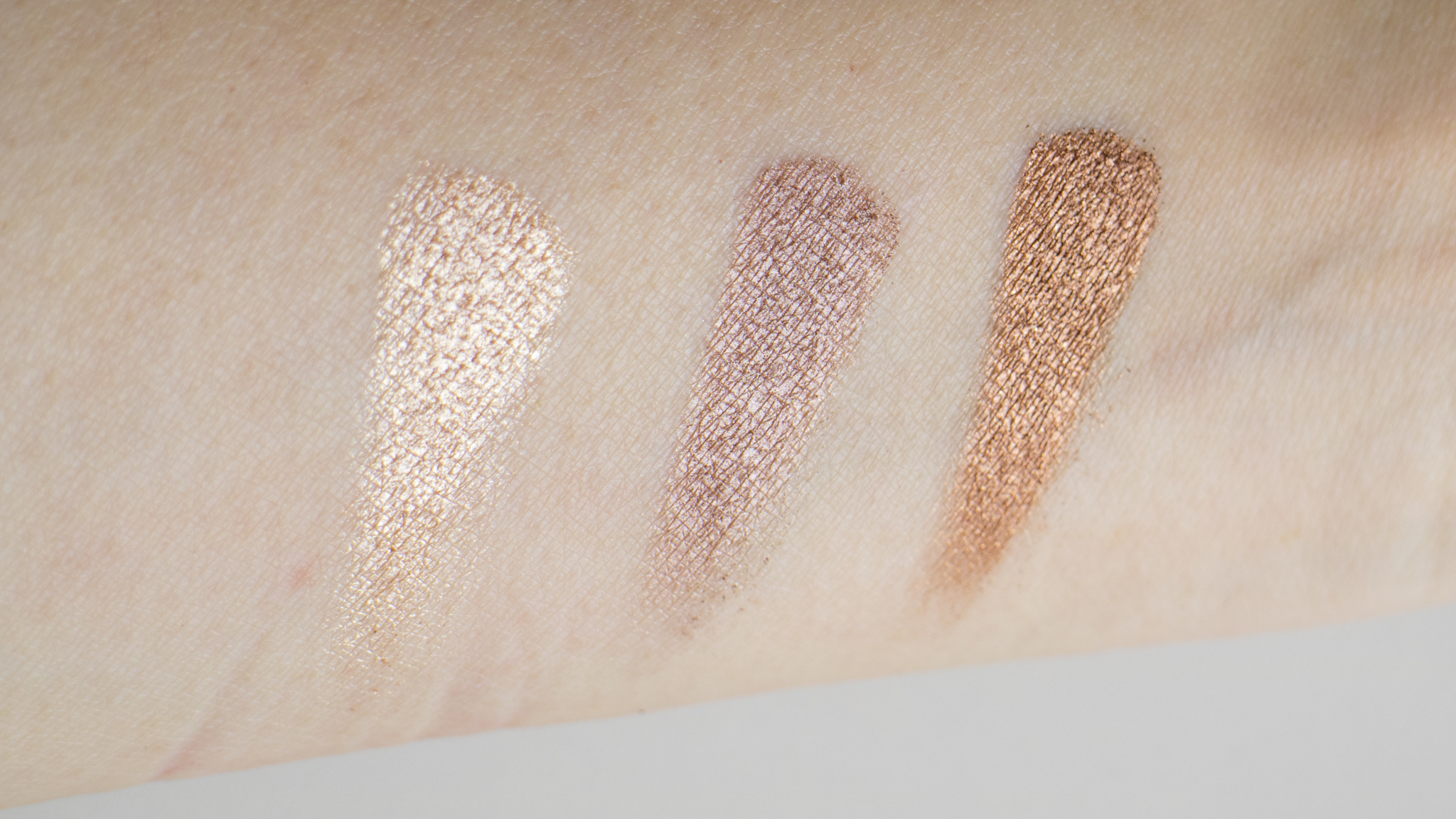 Tartelette in Bloom Luster Shades, from L to R: Funny Girl, Rocker, Firecracker