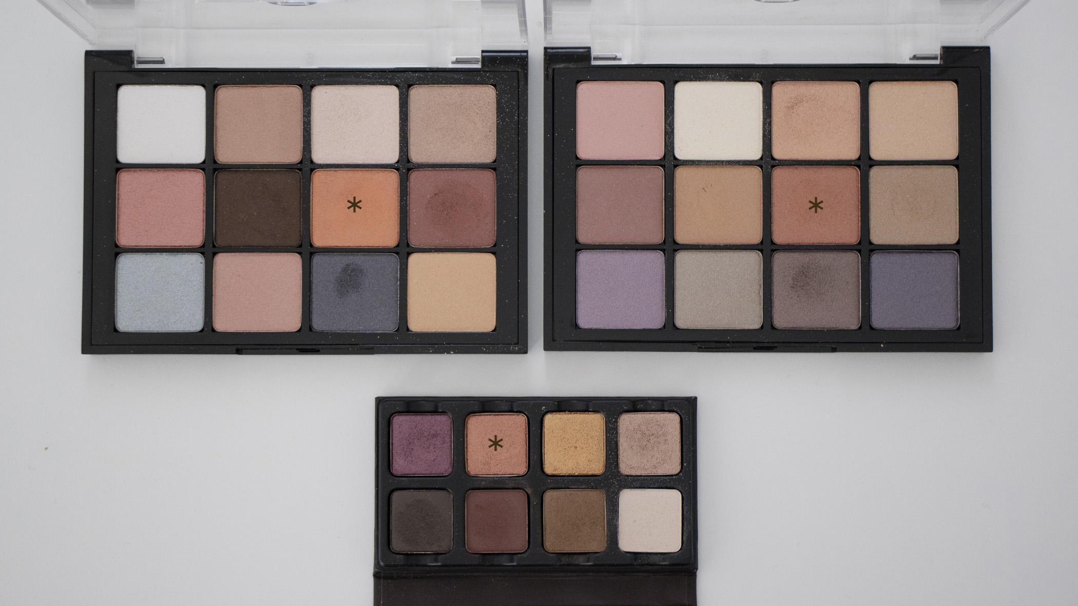 Top Left: Sultry Muse Palette; Top Right: Paris Nudes Palette