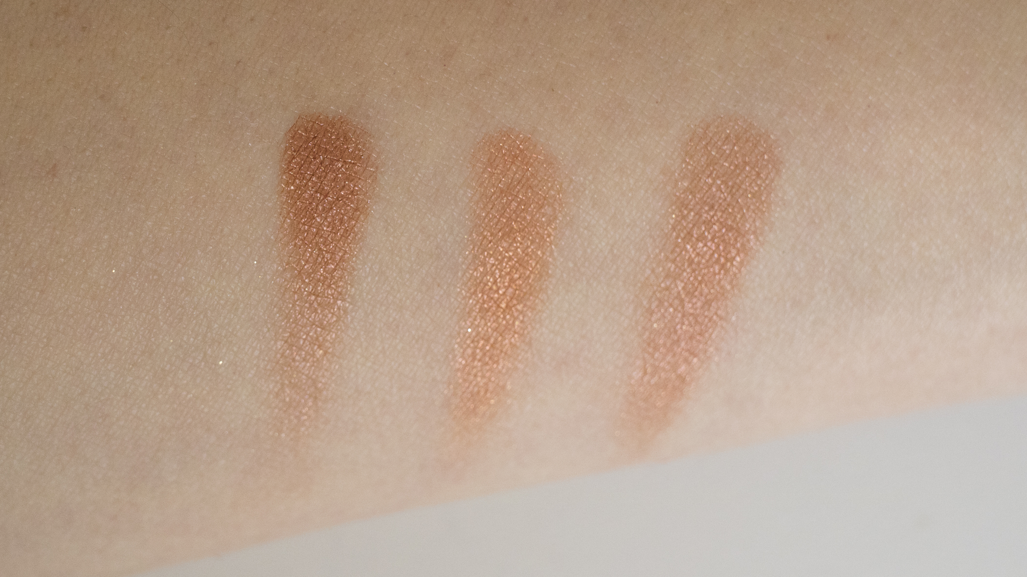 From L to R: Petit Pro, Sultry Muse, Paris Nudes