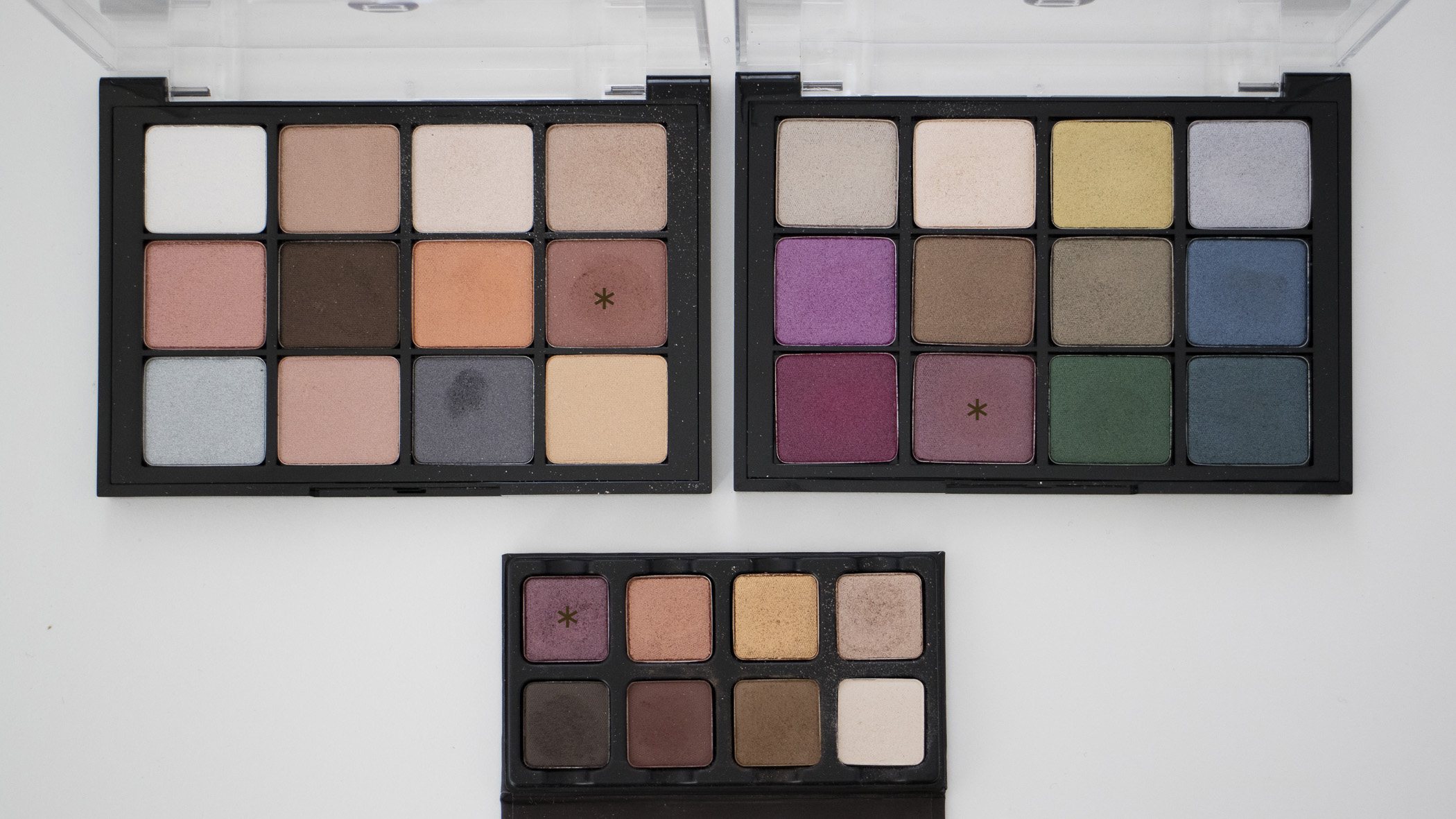 Top Left: Sultry Muse; Top Right: Bijoux Royal