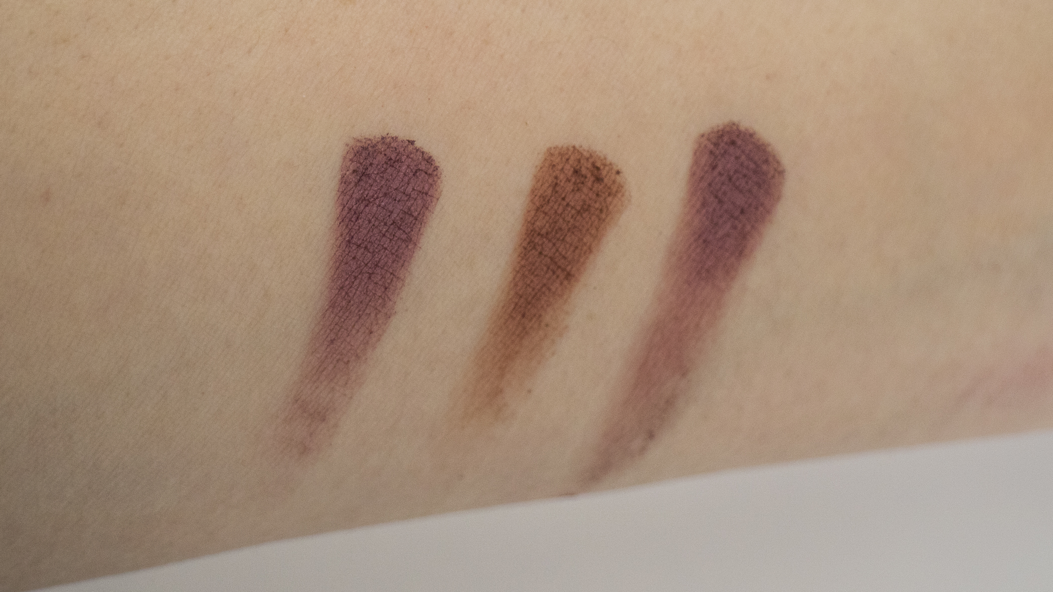From L to R: Petit Pro, Sultry Muse, Bijoux Royal