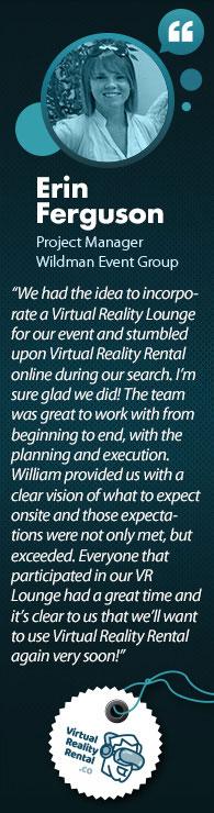VR Testimonial By Erin Ferguson