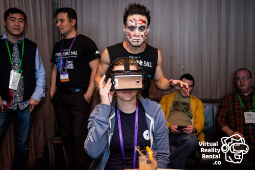 A10 RSA Conference Zombie VR Game