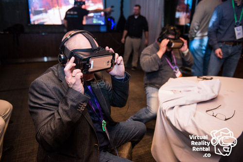 Gear VR at the A10 RSA Conference