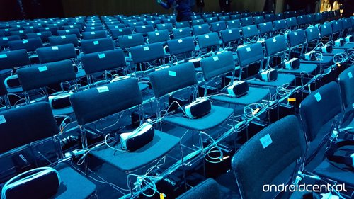 360˚ headsets on chairs
