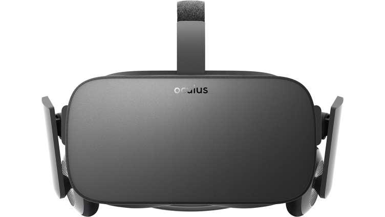 Oculus Rift Front View